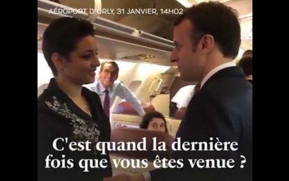 Tunisie : Macron ramène une Tunisienne «dans ses bagages»