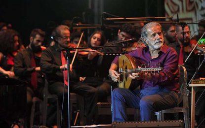 Tunisie : Le chanteur Marcel Khalife à Kasserine, le 20 mars