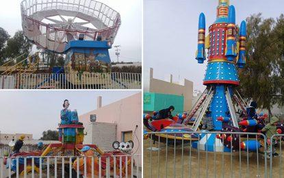 Tunisie : Ouverture du 1er parc d'attractions pour enfants à Kébili
