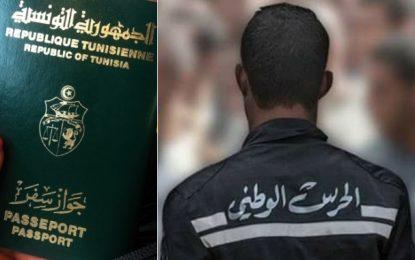 Passeports falsifiés : Un garde national arrêté à Sfax