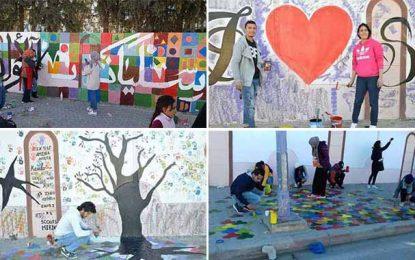 Tunisie : Les habitants de Siliana donnent des couleurs à leur ville