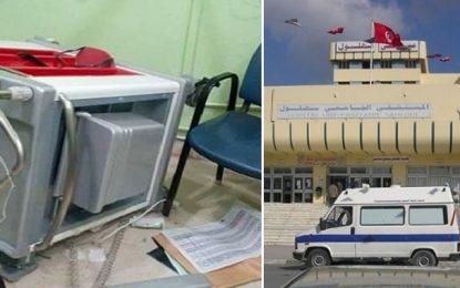 Sousse : Huit blessés dans des actes de violences à l'hôpital Sahloul