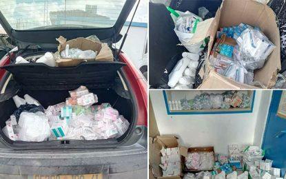 Trafic de médicaments : Deux Algériens arrêtés au Kef