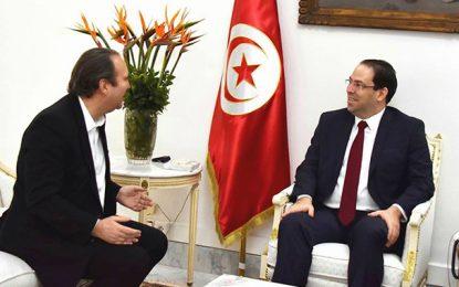 Rencontre Chahed-Niel : Faire de la Tunisie un pays digital