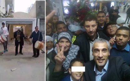 Tunis : Les islamistes accueillent Yassine Ayari avec tabla et zokra