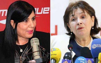 Tunisie : Abir Moussi porte plainte contre Sihem Bensedrine