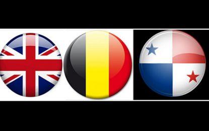 Football : Angleterre tranquille, Belgique en démonstration, Panama débordé