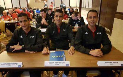 Mondial 2018 : Le Tunisien Anouar Hmila parmi les 63 arbitres assistants