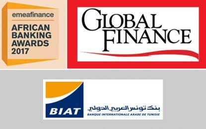 La Biat à nouveau élue «Meilleure banque en Tunisie 2017»