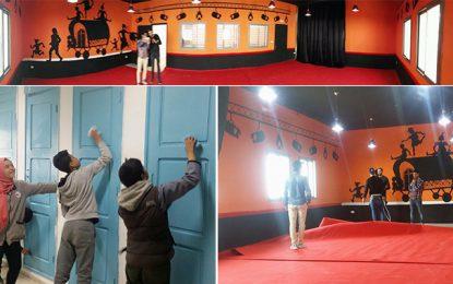 Ariana-Collège Borj Louzir : Une salle délabrée transformée en théâtre