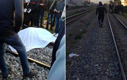 Jendouba : Décès d'un homme percuté par un train