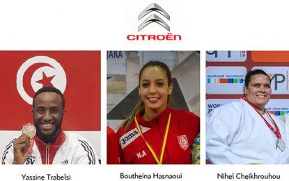Les Champions Citroën remportent 3 médailles depuis le début 2018