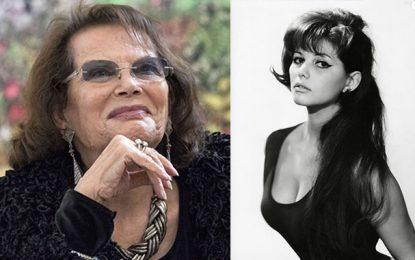 Claudia Cardinale à l'ouverture de la Cinémathèque Tunisienne