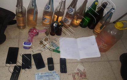 Kasserine : Arrestation d'un groupe spécialisé dans la fabrication de coktails Molotov