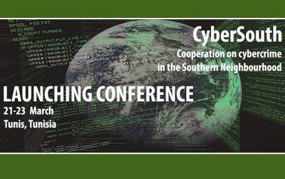 Cybercriminalité : Lancement à Tunis du programme CyberSud-Cooperation