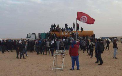 Tataouine : L'UGTT menace de bloquer la production pétrolière !