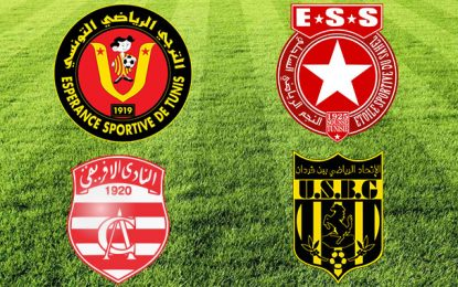 Football-Compétitions africaines : Le programme des clubs tunisiens