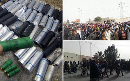 Retour au calme à Mdhilla : Arrestation de plusieurs casseurs