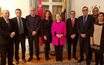Ikram Kerwat honorée à l'ambassade de Tunisie à Berlin