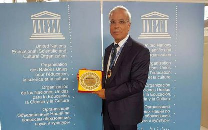 Tunisie : L'ancien ministre Kamel Ayadi honoré par l'Unesco