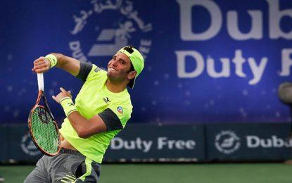 Tennis : Malek Jaziri quitte le tournoi de Dubaï la tête haute