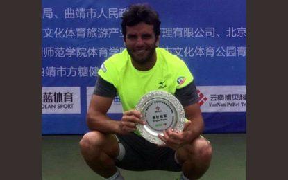 Tennis : Malek Jaziri remporte le tournoi de Qujing et gagne 80 points