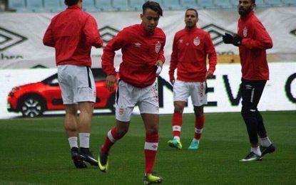 Football-Club africain : Le retour de blessure de Manoubi Haddad
