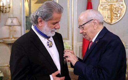 Tunisie : Marcel Khalifé décoré de la médaille nationale du mérite culturel