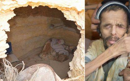 Médenine : Mohamed (50 ans) vit dans une grotte depuis 19 ans