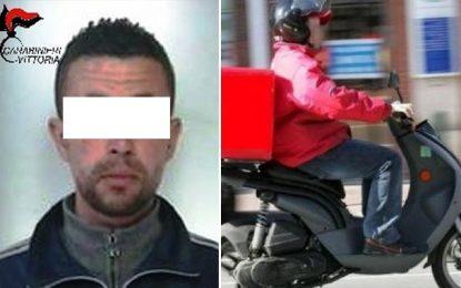 Vittoria : Un Tunisien livreur de pizza livre… de la drogue