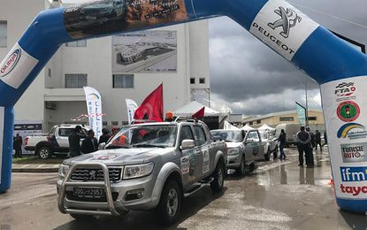Hammamet : Arrivée aujourd'hui du 1er Rallye des Pick Up by Peugeot