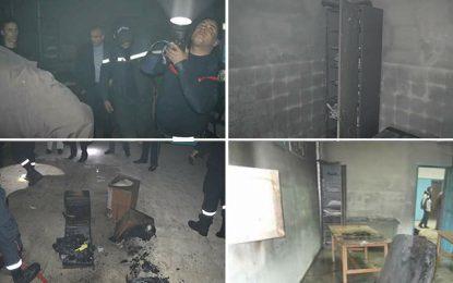 Sidi Bouzid : Un bureau d'administration d'un lycée incendié