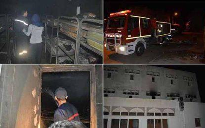 Incendie dans un foyer à Sidi Bouzid : Arrestation de 4 jeunes filles