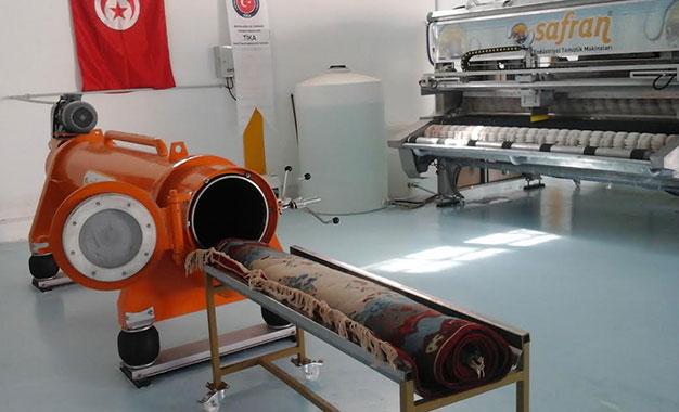 Artisanat Des Machines Pour Ennoblir Le Tapis Tunisien