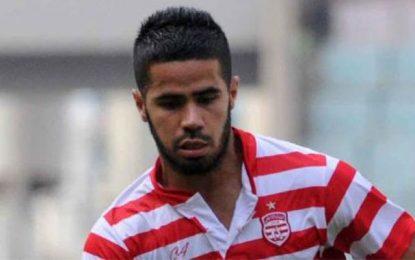 Club africain : Le milieu de terrain Tijani Belaid ne jouera pas à Sousse