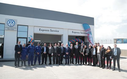 Total Tunisie : inauguration de Volkswagen Express Service à Soliman