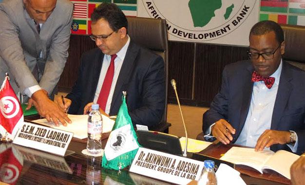 Un accord pour établir un Bureau régional de la BAD à Tunis