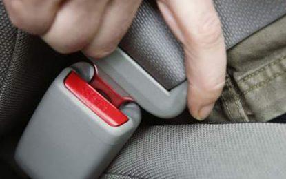 Tunisie : La ceinture à l'arrière des voitures devenue obligatoire