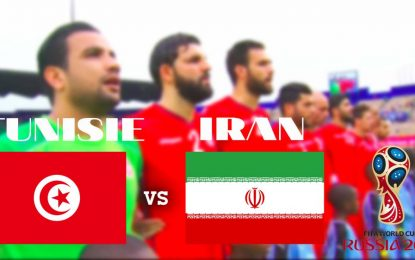 Tunisie-Iran en live streaming : match amical