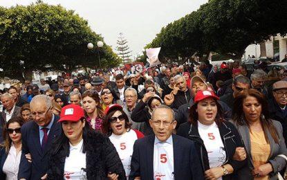 Municipales : Abir Moussi et le PDL en démonstration de force à Nabeul et Sousse