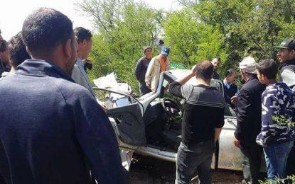 Kasserine : Trois morts et 19 blessés dans un accident de la route