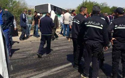 Accident de Kasserine : Le conducteur du bus et un automobiliste écroués