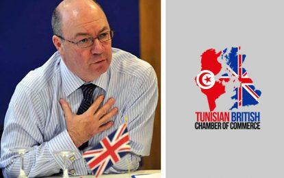 Visite du ministre Alistair Burt à la Chambre de commerce tuniso-britannique