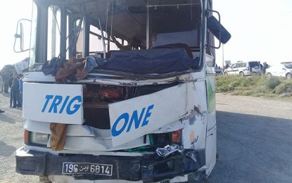 Bilan officiel accident Monastir : Deux morts et 70 blessés