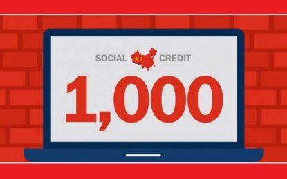 Crédit social, le nouveau principe de gouvernance en Chine