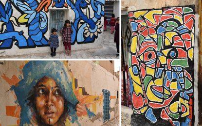 Djerba Painting : Le rendez-vous des street artistes à Houmt Souk