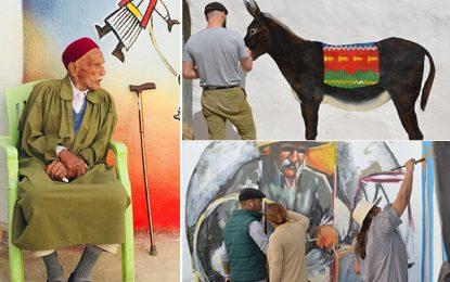 Djerba painting : Des artistes redonnent vie aux rues oubliées de Houmet Souk