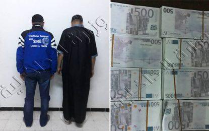 Trafic de devises : Saisie de 155.000 € dans l'île de Djerba