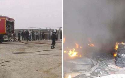 Kébili : L'incendie de Jemna a causé la perte de 100 tonnes de dattes