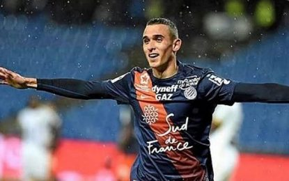 Football : Ellyes Skhiri, sur la lancée, marque pour Montpellier